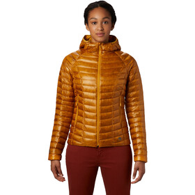 Mountain Hardwear Ghost Whisperer/2 Capuchon Jas Dames, gold hour